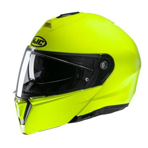 HJC i90 systeemhelm geel