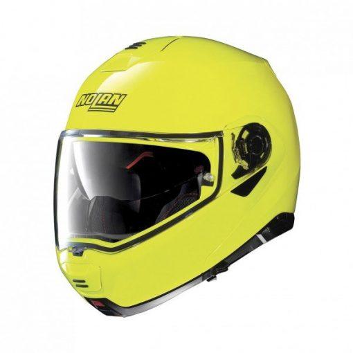 Nolan N100-5 systeemhelm geel